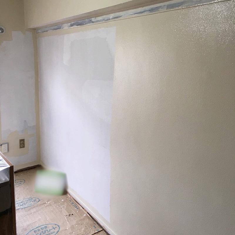室内塗装上塗り